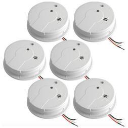 Kidde Home Wired Smoke Alarm Detector Fire Sensor Battery Ba