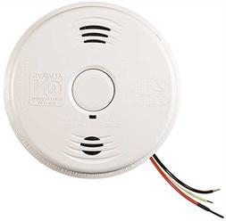 Kidde i12010SCO Carbon Monoxide & Smoke Detector, 120V 10-Ye