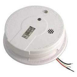 KIDDE i12080 Smoke Alarm, Ionization, 120VAC, 9V