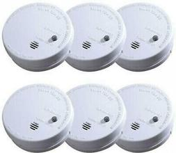 IONIZATION SMOKE ALARM Battery Operated Sensor Home Fire Saf