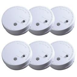 IONIZATION SMOKE ALARM Battery Operated Sensor Home Fire Saf
