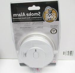 Code One Kidde Smoke Alarm Detector 10 Year Lithium Battery