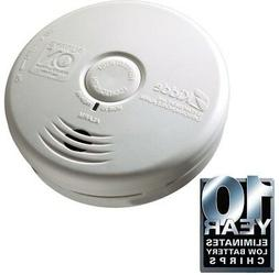 Kidde Worry Free 10-Year Combo Smoke + Carbon Monoxide Detec