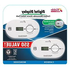 2 Pack Kidde KN-COPP-B-LS 900-0230 Digital Carbon Monoxide A