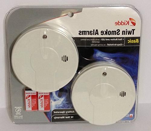 Kidde Smoke Alarm with Battery Indicator,