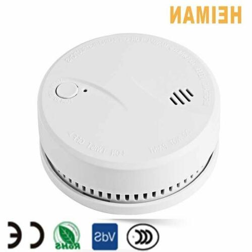 Photoelectric Smoke Alarm with 10-Year Sealed Battery-operat