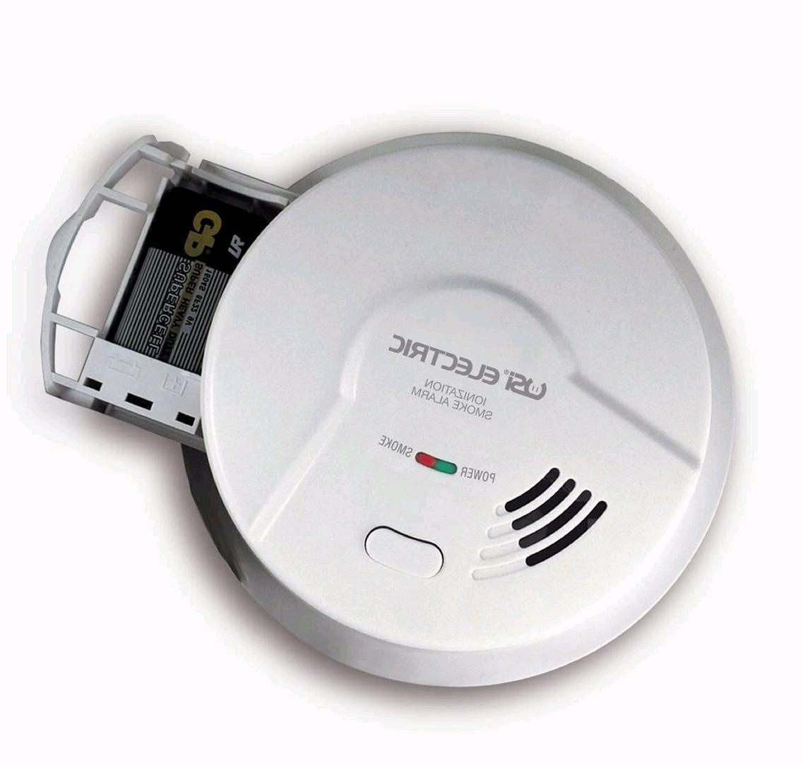 1-USI Electric 5304 Hardwired Ionization Smoke n Fire Alarm