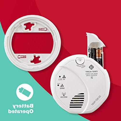 First Alert Smoke and Carbon Alarm Z-Wave
