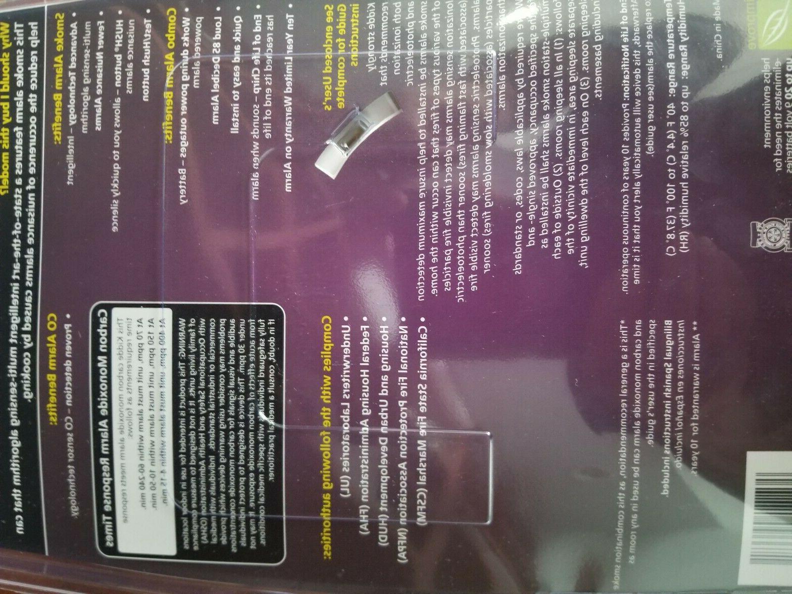 Kidde Smoke and Carbon Combination Detector