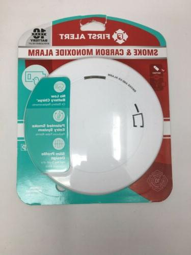 1039868 battery powered smoke detector with led