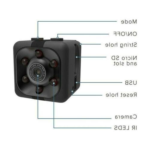 1080P HD Mini Camera Security Record Motion Camcorder