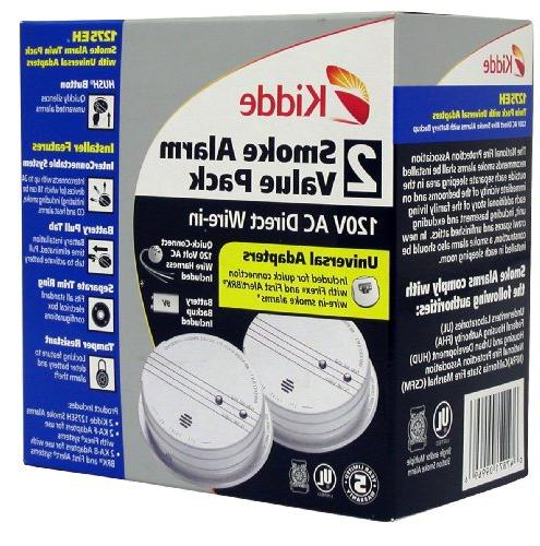 Kidde 1275 Smoke Alarm and Battery Pack