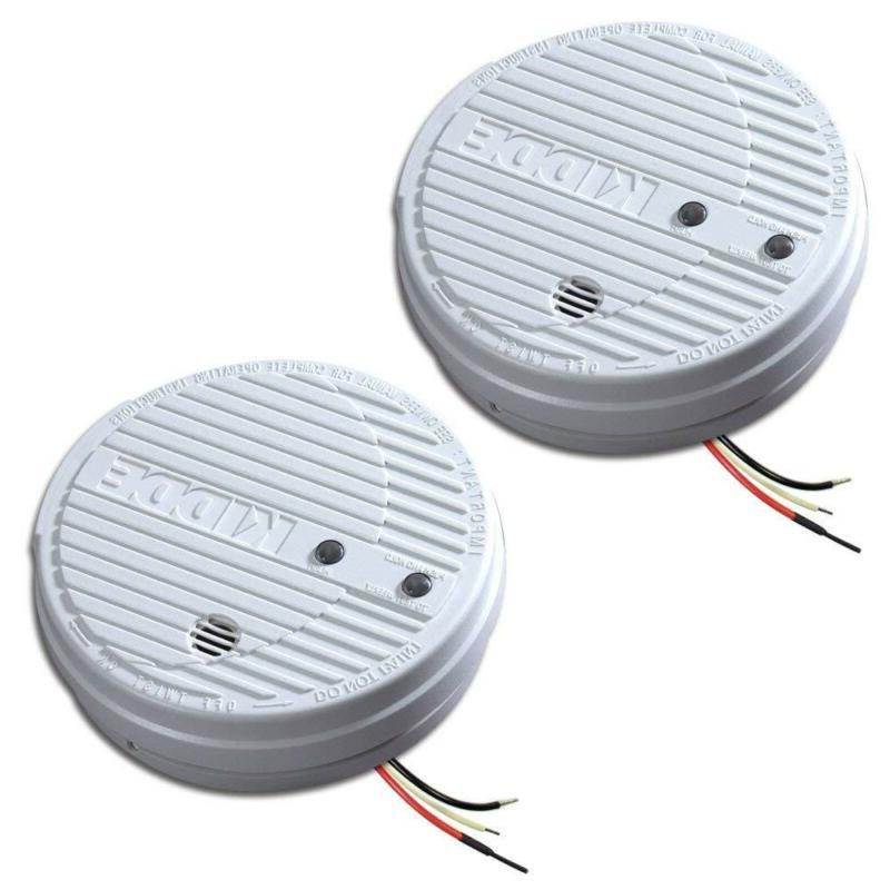 1275 hardwire smoke alarm with hush feature