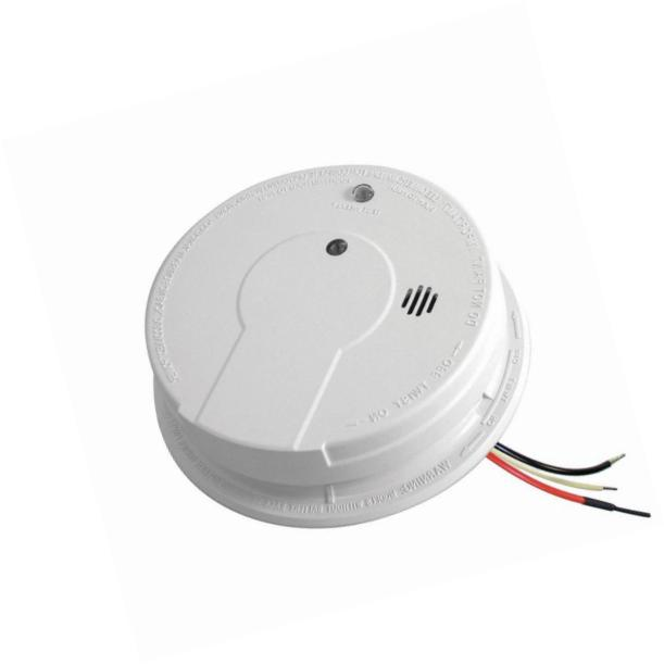 Kidde i12040 120V AC Wire-In Smoke Alarm with Battery Backup