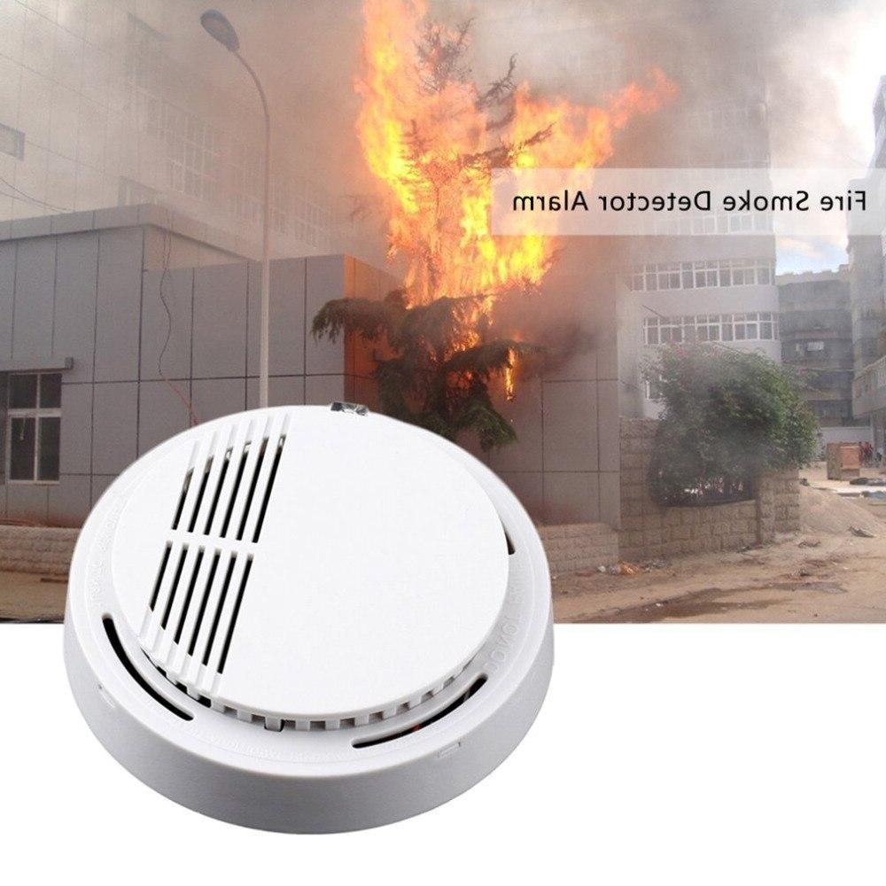 2/5/10pcs Sensor <font><b>Alarm</b></font> Sensitive <font><b>Fire</b></font> for home