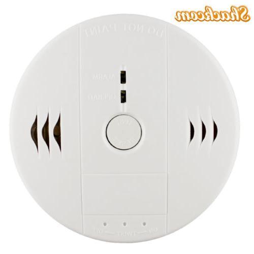 2-Pack Smoke Carbon Monoxide Combination Detector Alarm Batt