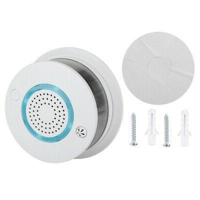 2 in 1 Smoke Alarm APP Temperature Sensor Detector Home Security