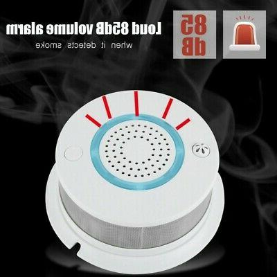 2 Fire Smoke Alarm WIFI APP Temperature Detector Home