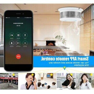 2 Smoke Alarm APP Temperature Home