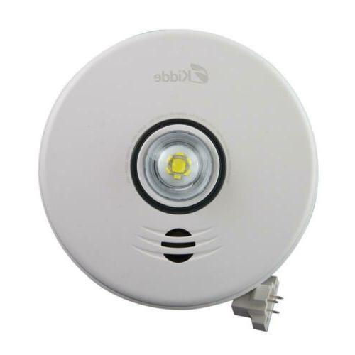 2 in 1 led strobe smoke detector