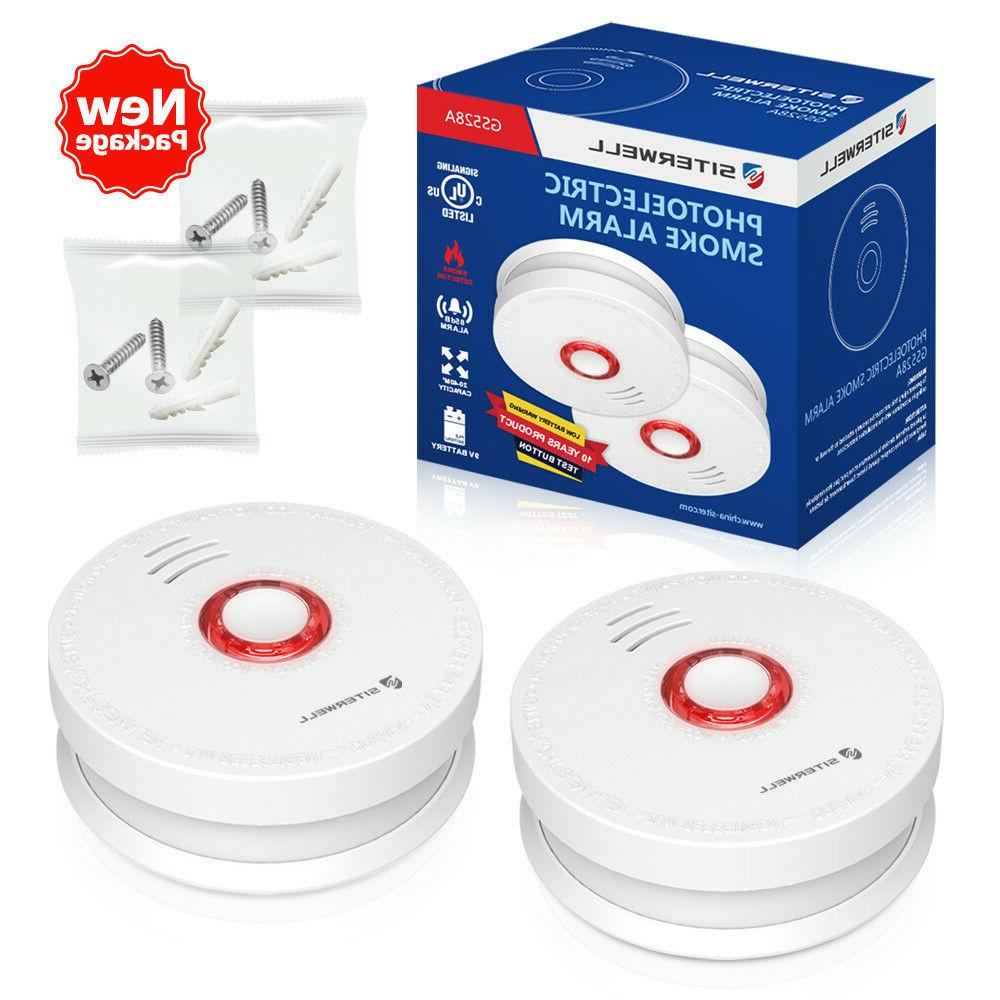 SITERWELL2 Smoke Detector and Smoke and Fire Alarm