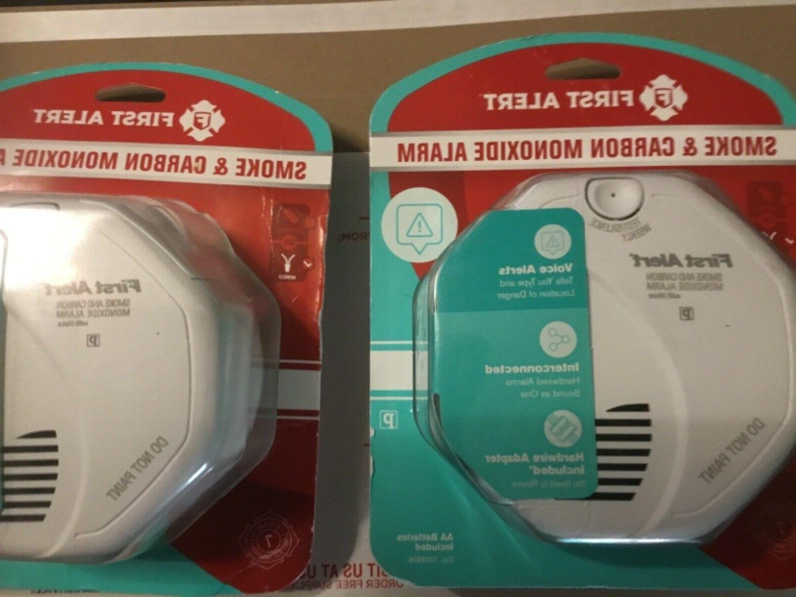 2 Alert Smoke and Carbon Alarm Wireless