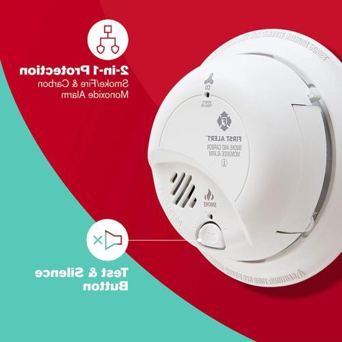 3 And Carbon Monoxide Alarm With 9V Backup