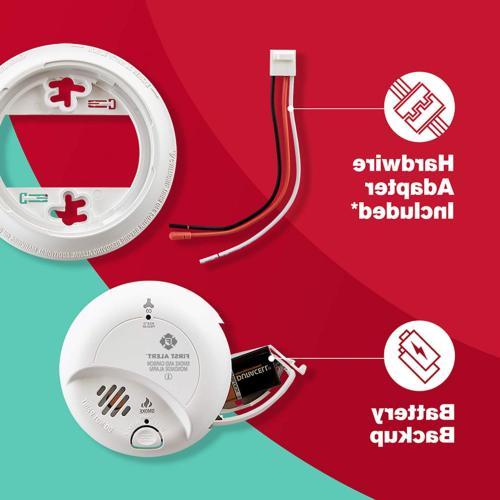 3 Pack Carbon Monoxide Hardwired Alarm Backup