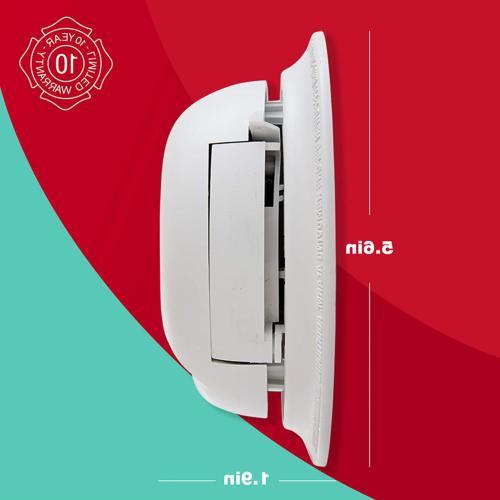 3 Smoke Carbon Monoxide Alarm Backup