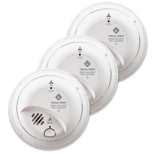 3 pack smoke and carbon monoxide detector