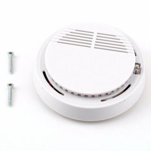 5X SMOKE Operated Sensor Home Fire Safety Smoke