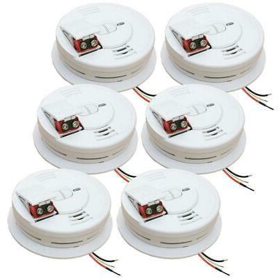 Smoke Detector Alarm Quick Detect Ionization Sensor Hard Wir