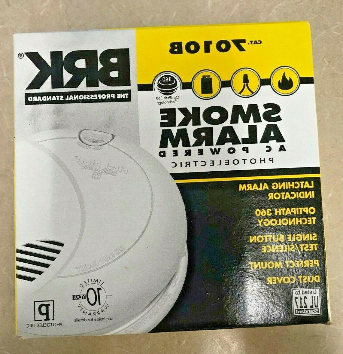 7010b photo electronic smoke alarm
