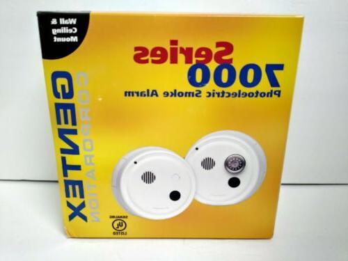 7100hf photoelectric smoke alarm w piezo 135deg