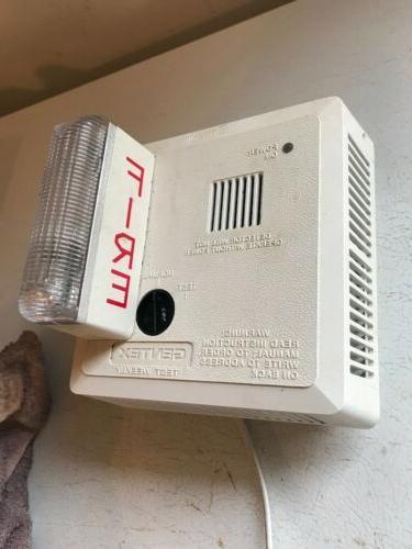 710ls w hearing impaired strobe smoke fire