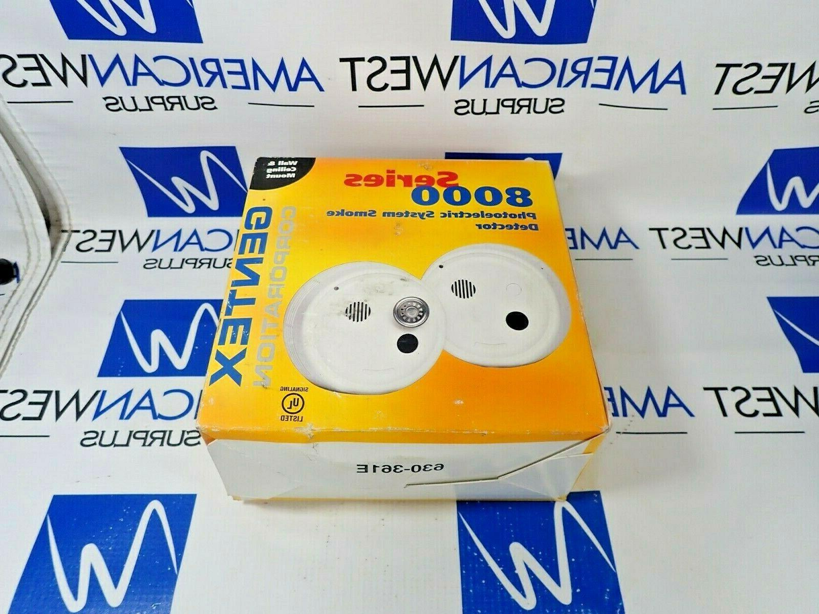 8100t photoelectric 4 wire smoke detector 120vac