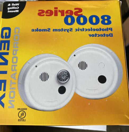 8100y 4 wire system smoke detector non