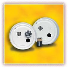 Gentex 9223F Smoke Alarm, 220V Hardwired Interconnectable Ph
