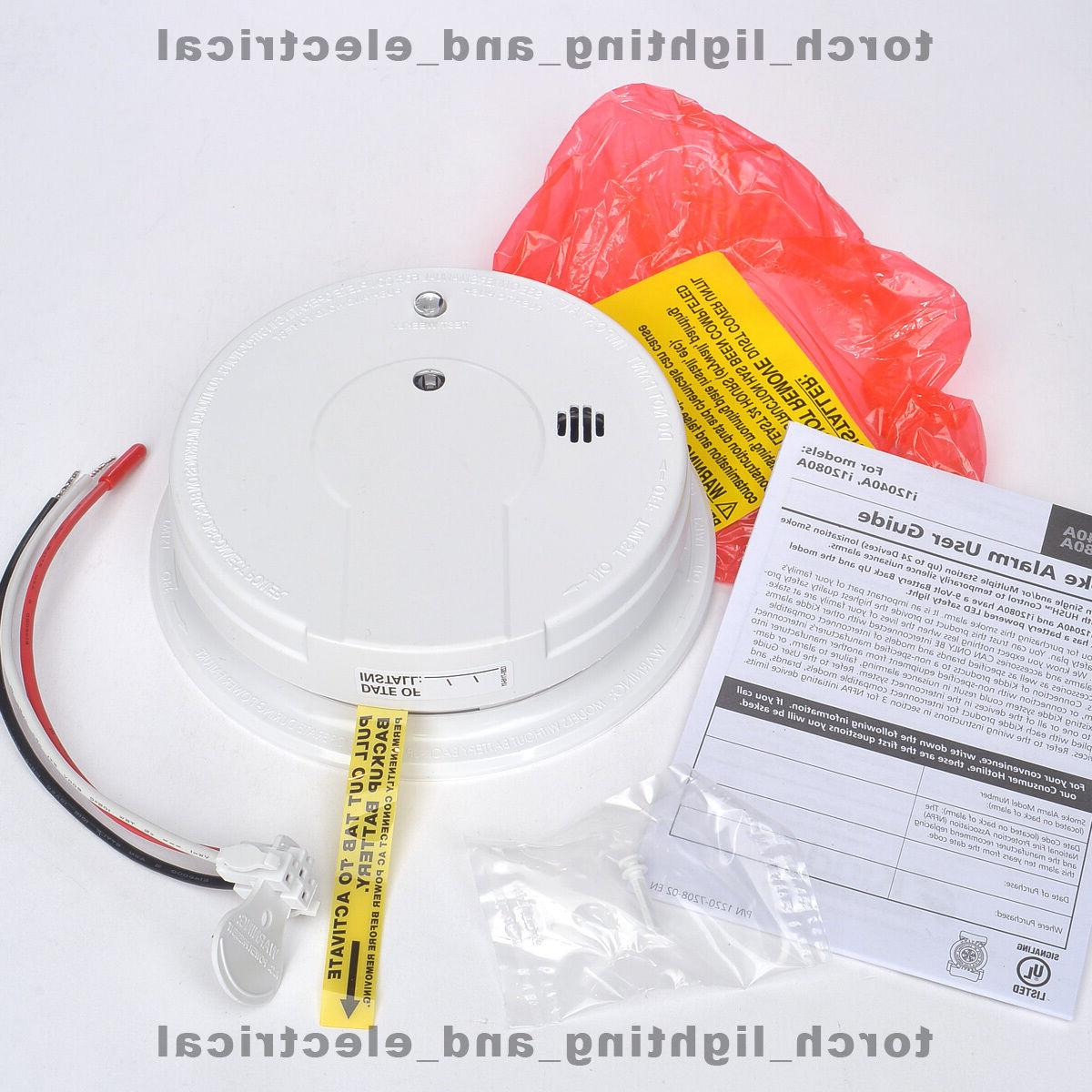 Kidde - Interconnectable Alarms Smoke Ionization Battery Backup: smoke alarm backup