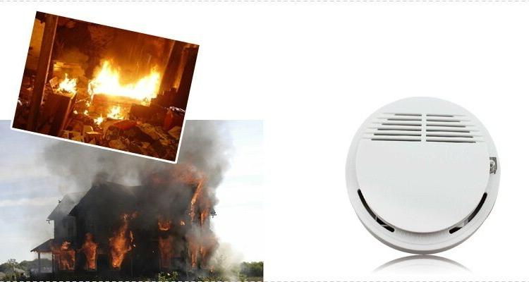 Wireless Security Fire Alarm System