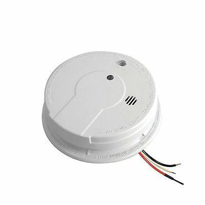 ac hardwired interconnect smoke detector alarm