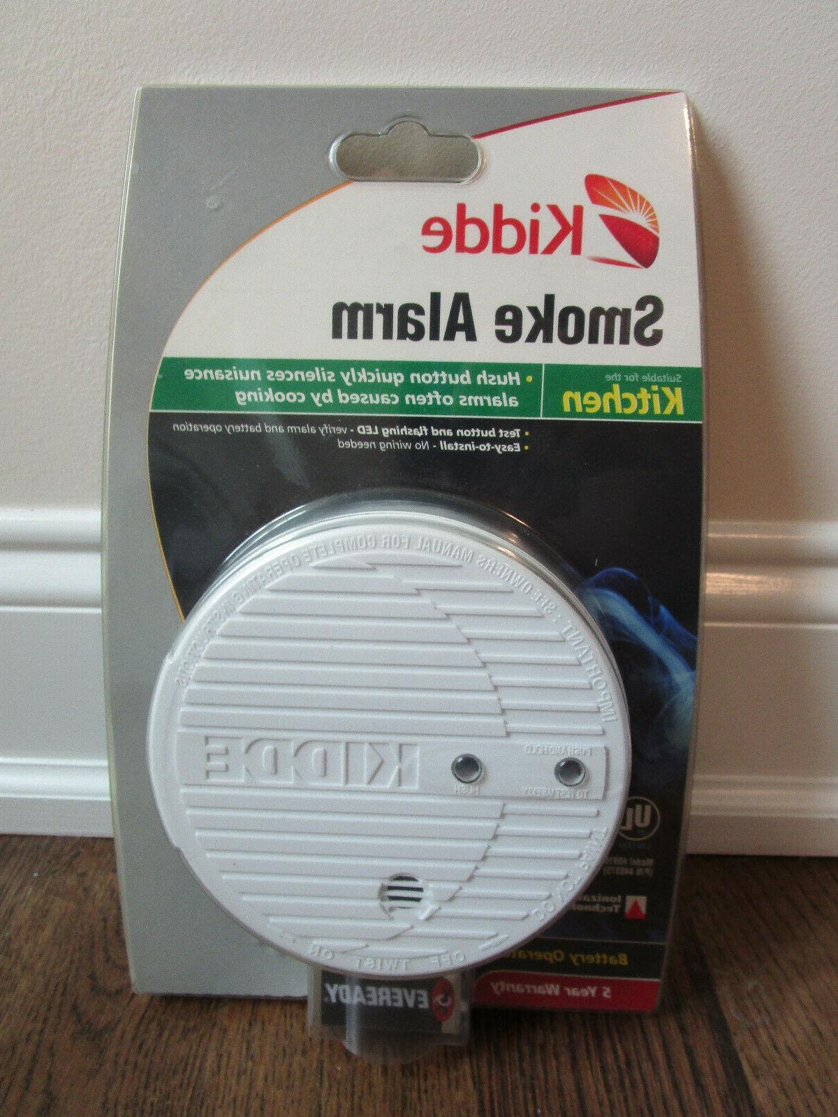 Kidde Battery Operated Smoke Alarm - 440375-02