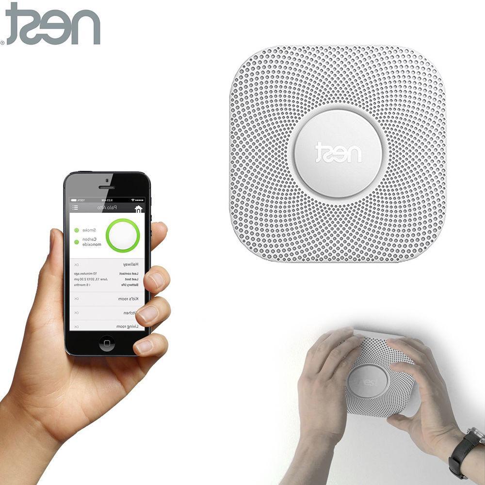 Nest Smoke CO Alarm Smartphone