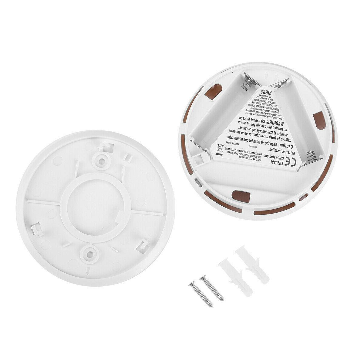 2-Pack Combination Smoke Carbon Monoxide Battery Operated