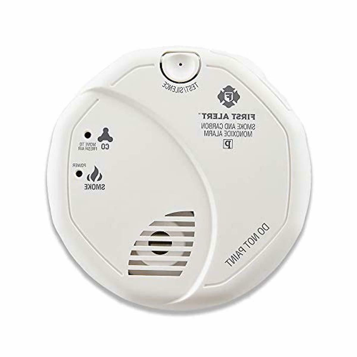 First Smoke And Carbon Monoxide Detector