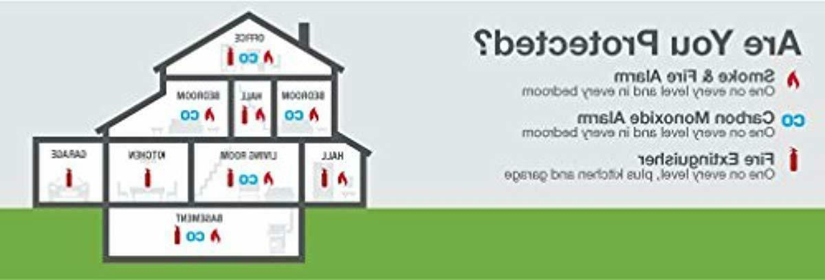 First Alert Smoke Alarm - Monoxide Detector Battery NEW