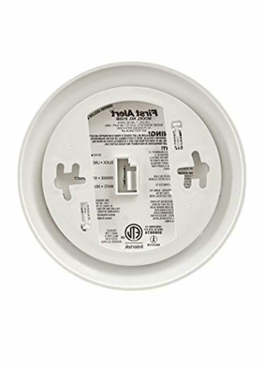 First Alert Smoke Alarm Monoxide NEW