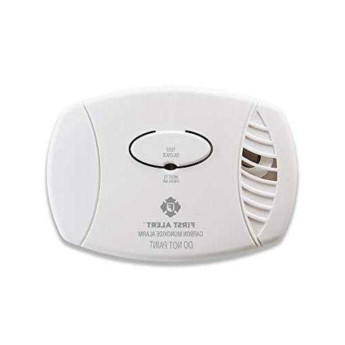 carbon monoxide alarm green