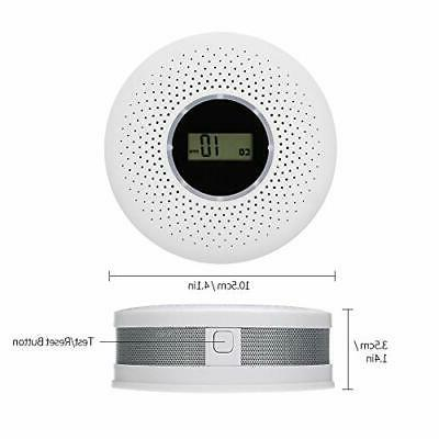 Carbon Combo Battery CO Alarm with LED