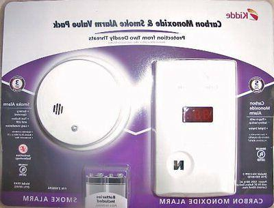 carbon monoxide detector and battery operated smoke